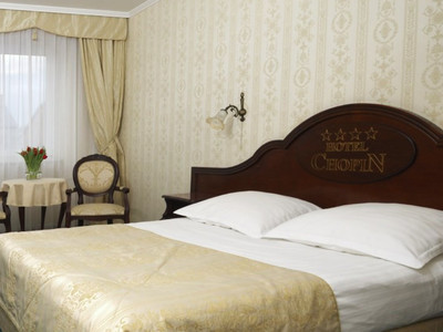 A double room in Hotel Chopin